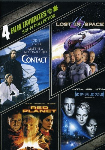 (4 Film Favorites: Sci-Fi (Contact, Lost in Space, Red Planet, Sphere))