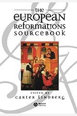 The European Reformations Sourcebook Capa comum