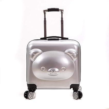 30a5def4146a Amazon.com: HUIYA Bears Boarding Childrens Trolley Case Cartoon ...