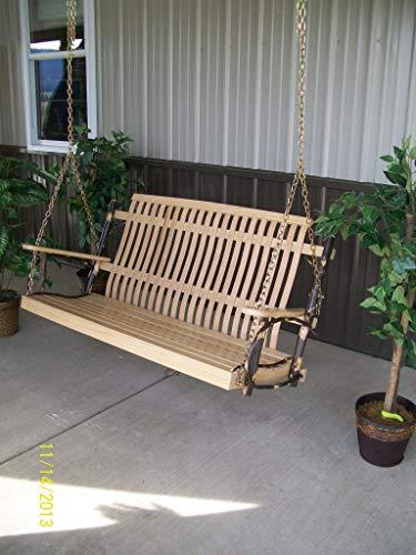 (A&L Furniture Co. 5' Hickory Porch)