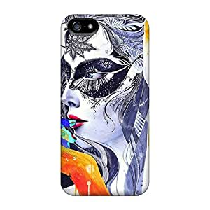 For Iphone 5/5s Protector Case Digital Face Phone Cover