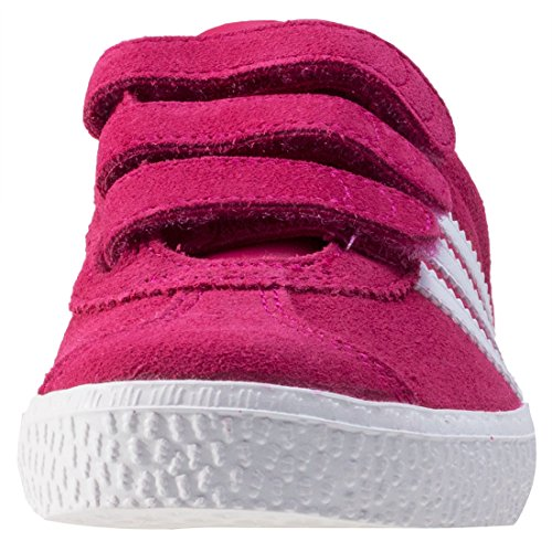 9741402024 ADIDAS Chaussures GAZELLE 2 KID - Rose: Amazon.fr: Chaussures et Sacs