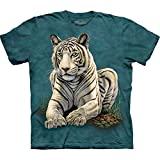 The Mountain Tiger Gaze Adult T-shirt M