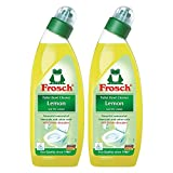 Frosch Lemon Toilet Bowl Cleaner, 750 ml (Pack of 2)