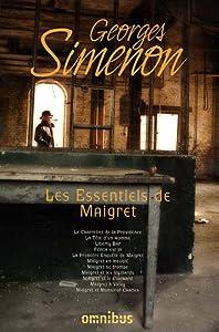 """Afficher """"Les essentiels de Maigret"""""""