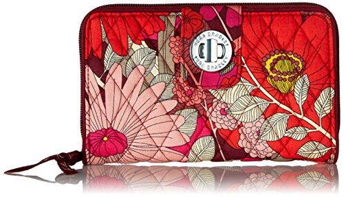 Turnlock Wallet Bohemian Blooms, One Size by Vera Bradley (Image #1)