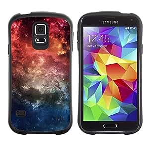 Paccase / Suave TPU GEL Caso Carcasa de Protección Funda para - Nature Beautiful Forrest Green 57 - Samsung Galaxy S5 SM-G900
