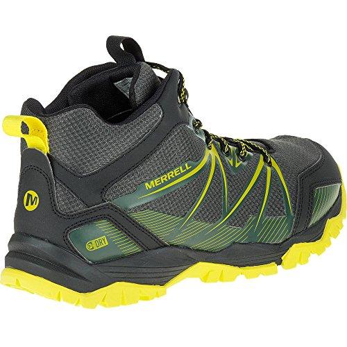 Merrell Gorra Ra Rise Mid Agua Proof Trail Hiking Botas - AW16 Verde