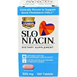 Mission Pharmacal Slo-niacin 500 mg, 100 Count