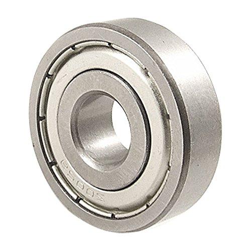 6200Z Ball Bearing - TOOGOO(R) 6200Z 10mm x 30mm x 9mm Double Shielded Ball Bearing