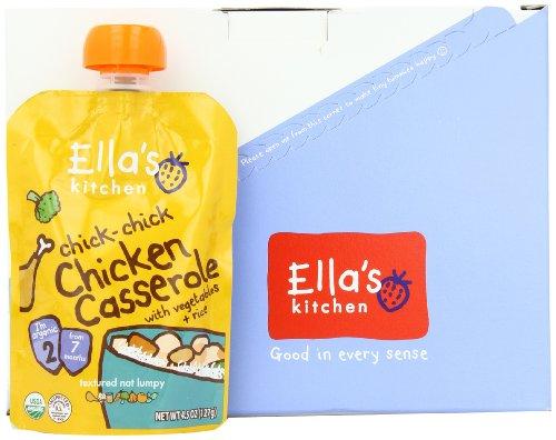 Ella's Kitchen, Chic Chic Chicken Casserole, 4.5 Ounce (Pack of 7)