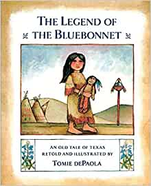 The Legend of the Bluebonnet: Tomie dePaola: 9780698113596 ...