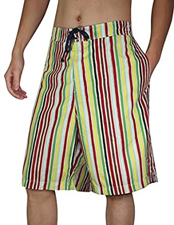 Tommy Bahama Mens Surf / Beach Shorts with Swim Lining L Multicolor