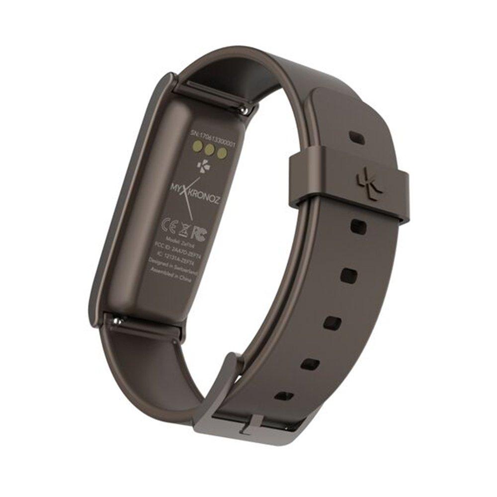 Montre connectée My Kronoz ZEFIT 4 tracker complet marron: Amazon.fr: High-tech