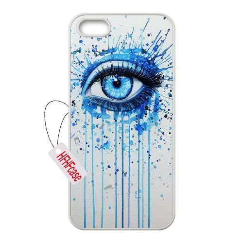 Price comparison product image HFHFcase New Fashion Case for Iphone5,  Iphone 5S,  Eyes Iphone5,  Iphone 5S Durable Case
