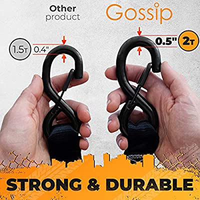 GOSSIP Heavy Duty Ratchet Strap – 1.5
