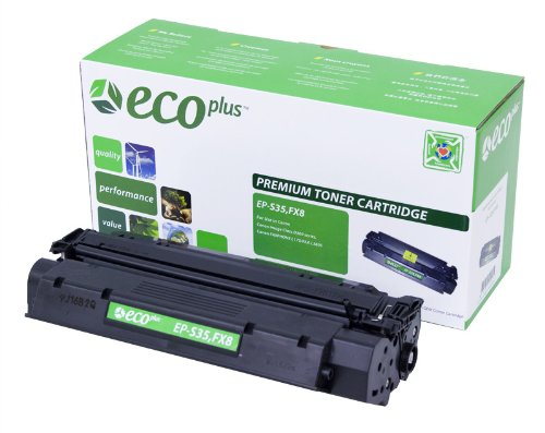 ECOPLUS REMAN TONER CTG, BLACK, 3.5K YIELD. Replaces CANON - Reman Canon Toner