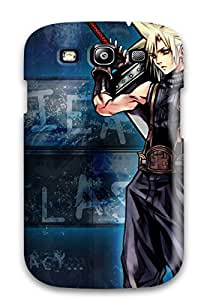 Excellent Galaxy S3 Case Tpu Cover Back Skin Protector Cloud And Sephiroth