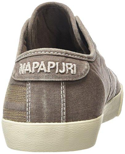 Napapijri Asker - Zapatillas Hombre Marrón - Braun (elephant brown N24)