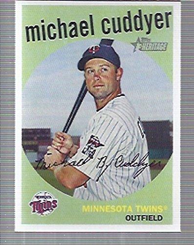2008 Topps Heritage Baseball #422 Michael Cuddyer Minnesota Twins