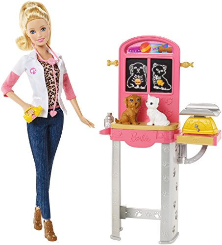 Barbie Careers Pet Vet Doll and Playset -