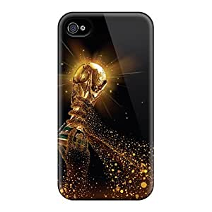 For Iphone 4/4s Tpu Phone Case Cover(world Cup Iphone4)