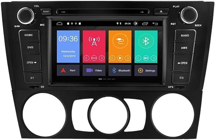 Zltoopai Für Bmw E81 E82 E87 E88 1 Serie 7 Zoll Android 9 0 Autoradio Stereo Gps Navigation Auto Gps Media Player Unterstützung Rückfahrkamera Dvr Obd Tpms Voll Rca Navigation