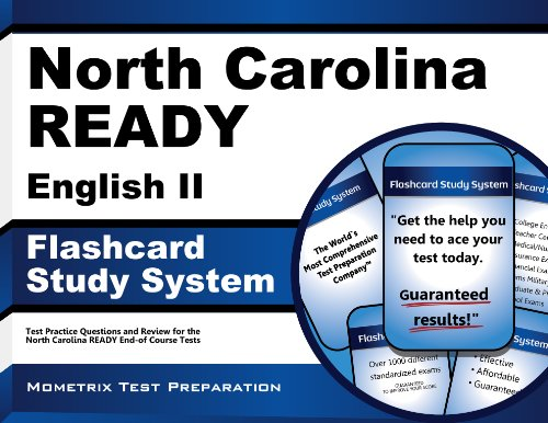 North Carolina READY English II Flashcard Study System: North Carolina READY Test Practice Questions & Exam Review for the North Carolina READY End-of Course Tests (Cards)
