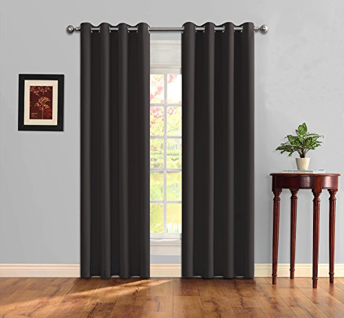 Ifblue Home Dcor Room Darkening Thermal Insulated Grommet Window Treatments Blackout Curtains