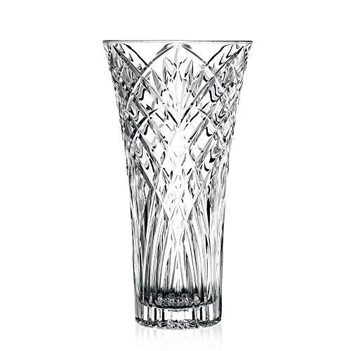 RCR Melodia Crystal Glass Decorative Flower Vase, - Glass Vase German