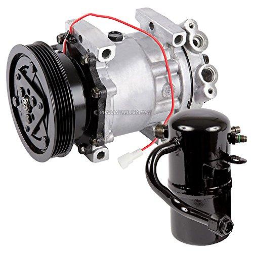 AC Compressor w/A/C Drier For Mazda 626 2.0L 1998 1999 2000 2001 2002 - BuyAutoParts 60-86274R2 New (A/c Compressor Mazda 626)