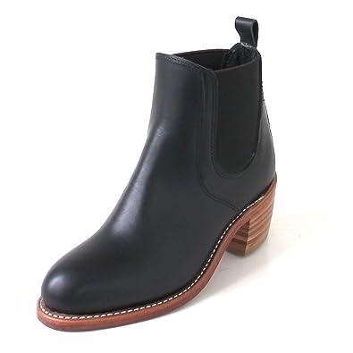 Red Wing Shoes Botas de Piel para Mujer Negro Schwarz