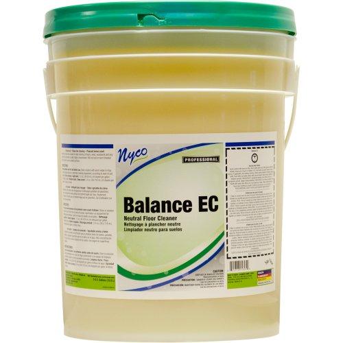 Nyco Products NL158-P5 Balance EC pH Neutral Floor Cleaner, 5-Gallon (Floor Cleaner 5 Gallon Pail)