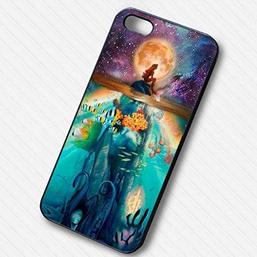 Full moon night sky mermaid pour Coque Iphone 6 et Coque Iphone 6s Case X8S2VJ