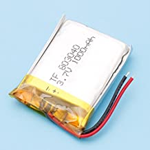 1Pcs 083040 3.7V 1000mAh Polymer Lipo Battery With PCM Rechargeable