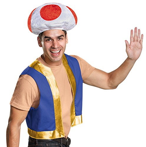 Toad Mario Costumes (Mario Brothers Kit Costume)