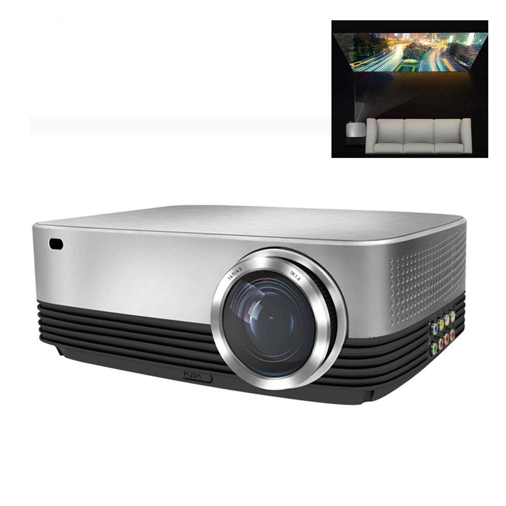 LiChenYao SV-428 HD Home Projector, LED no Screen 1080P Projector
