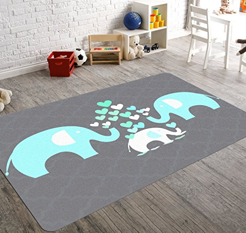 amazon com hawkerpeddler elephant nursery decor kids room non slip rh amazon com kids room natick ma kids room makeover ideas