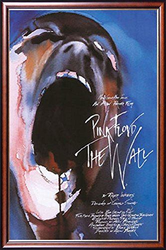 FRAMED Pink Floyd Theatrical Release 24x36 Poster Dry Mounte