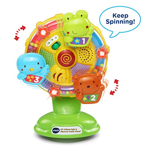 51suWNMf4YL - VTech Baby Lil' Critters Spin and Discover Ferris Wheel (Frustration Free Packaging)