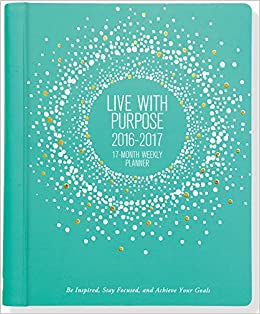 2017 what to focus on weekly planner 16 month engagement calendar