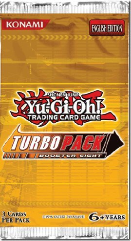 1 Pack of Yu-Gi-Oh! 5Ds TCG: Turbo Pack Booster 8