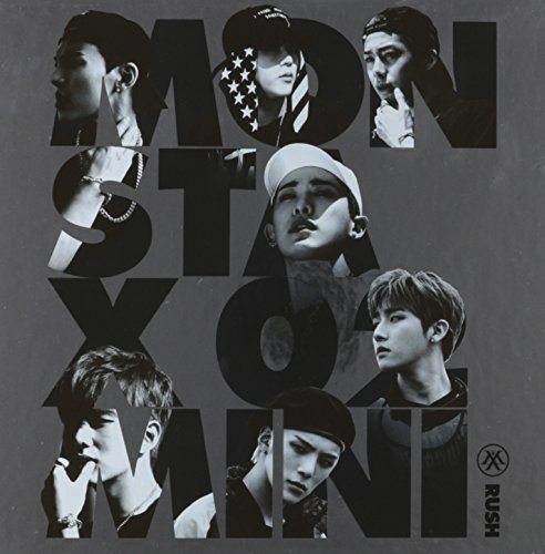 CD : Monsta X - Rush (2nd Mini Album) Official Version (Asia - Import)