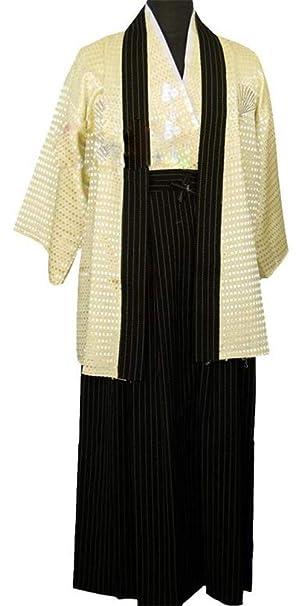 Amazon.com: Kimono tradicional japonés para hombre/niño ...