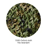 HYOUT Camouflage Netting, 6.5x10ft Woodland Camo