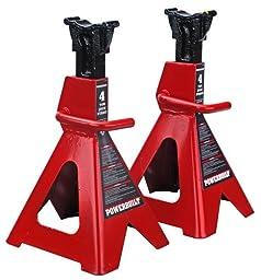 Powerbuilt 647529 Heavy Duty 4-Ton Jack Stand - 2 Piece