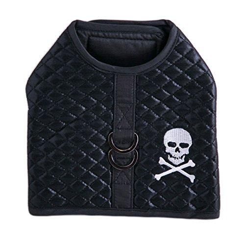 (Pet Vest Harness, Skull Harness (M for Pet 10-15 lbs.))