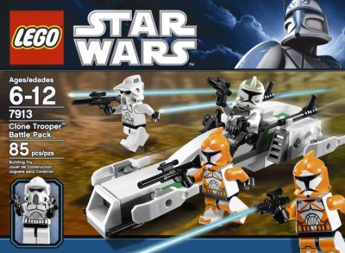 Amazon Lego Star Wars Clone Trooper Battle Pack 7913