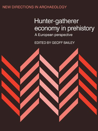 Hunter-Gatherer Economy in Prehistory: A European Perspective (New Directions in Archaeology)