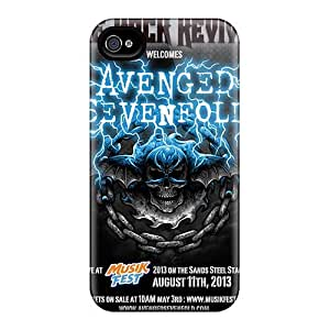 DannyLCHEUNG Iphone 4/4s Shock Absorbent Hard Phone Case Customized Attractive Avenged Sevenfold Series [TGZ12879rTJL]